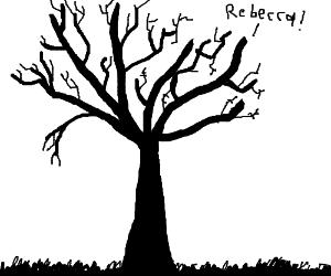 "Branch yells ""Rebecca!"""