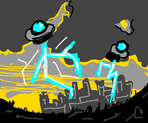 Alien Electrifies City