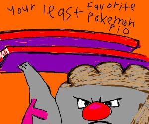 Your Hated Pokemon P.I.O. (oshawott)