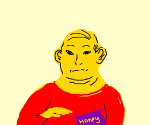 Winnie the Pooh as a human