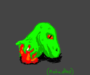 The dragon head is dead