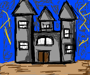 Spoopy mansion