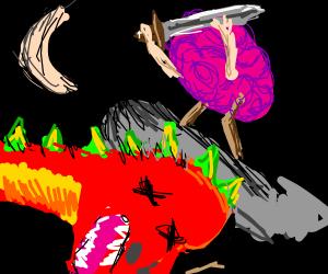 Brain has Slain the Dark Dragon