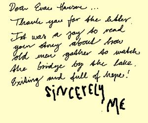 Sincerely Me (Dear Evan Hansen)
