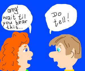 Random gossiping