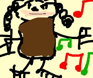Tessa Brooks dancing