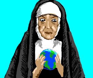 Nun Aims For World Domination