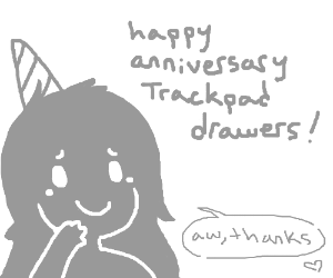 Happy Anniversary Trackpad Drawers!