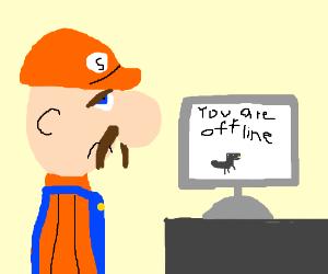 Sponge ain't online