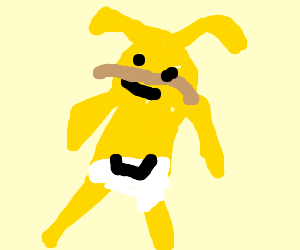 jake the dog makes poopies in his diper