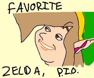Favorite Zelda P.I.O.