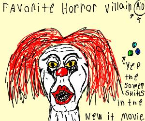 Favorite Horror Villain PIO