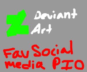 Favorite Social Media P.I.O.