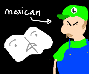 newspaper fears angry mexican luigi