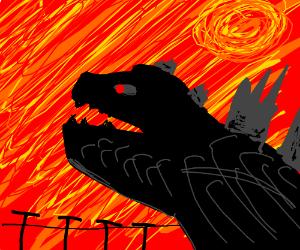 It's Godzilla