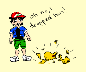 how to break pikachu