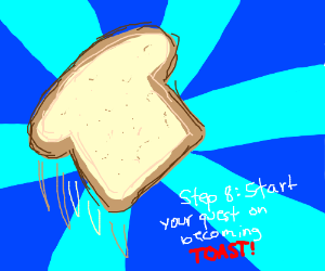step 7: be found and pronounced bread