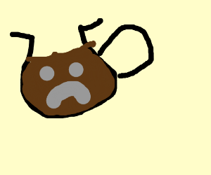 sad coffee pot