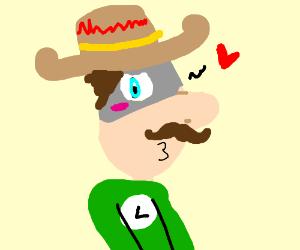 Mexican Luigi (from super mario)