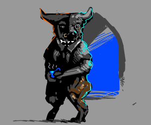 Fancy Minotaur