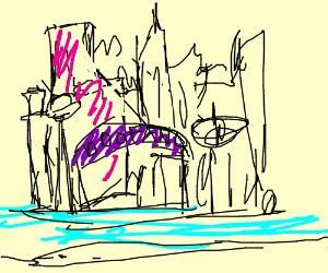 Dr. Doofenshmirtz's Doofania city.