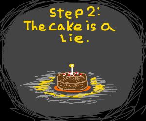 Step One: Create a Cake