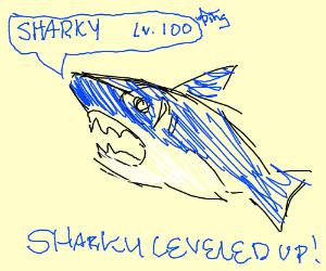 Sharky leveled up to lvl. 100!