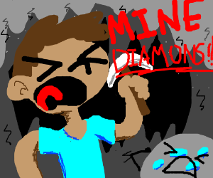 "A video called ""Mine Diamonds"""