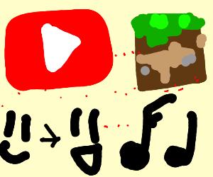 YouTube Minecraft Parody Song