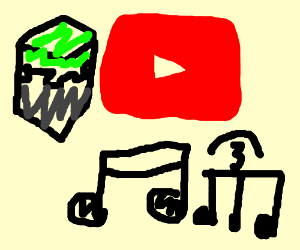 YouTube and Minecraft make you happy to sing.