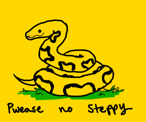 the Gadsden flag aka dont tread on me
