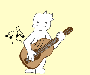 strumming lame music