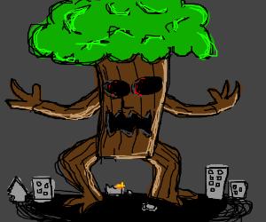 Treezilla (Tree monster)