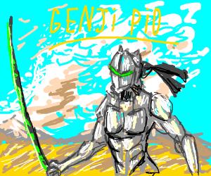 Genji from Overwatch PIO/PASS IT ON