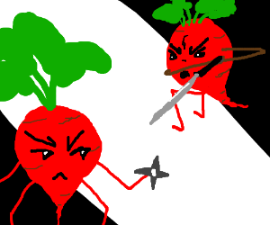 epic beet fight