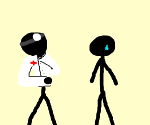 Dr. lorn the tripod confounds stickman