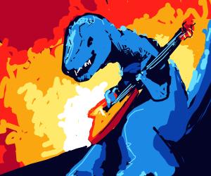 Rockin'dinosaur