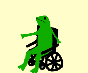 Overused Meme In A WheelChair