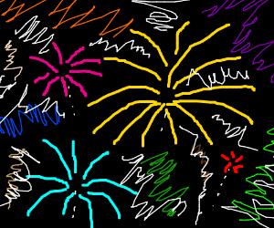 random firework like ART, IT CANT BE DESCRIBED