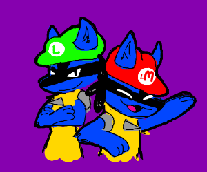 Super Lucario Bros.