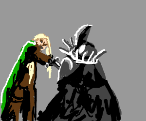 LotR: Eowyn vs. the Witch-King