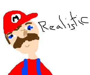 A more realistic Mario.