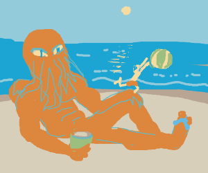 Cthulhu Muscle Beach Party