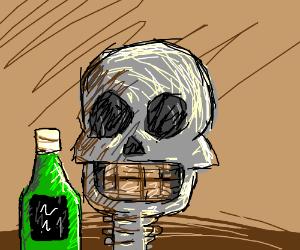 Alcoholic skeleton