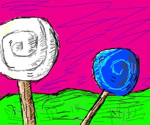 Lollypop land