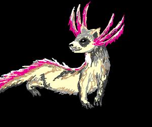 A ferret-axolotl hybrid