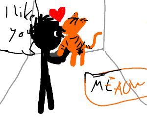Guy Likes Cat