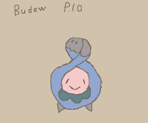 Budew (Pokemon) P.I.O