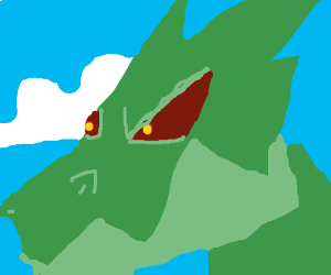 Dragon Closeup
