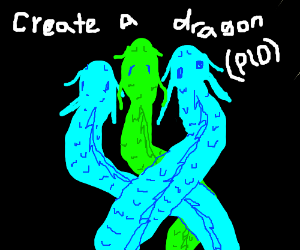 Create your epic dragon!(PIO)